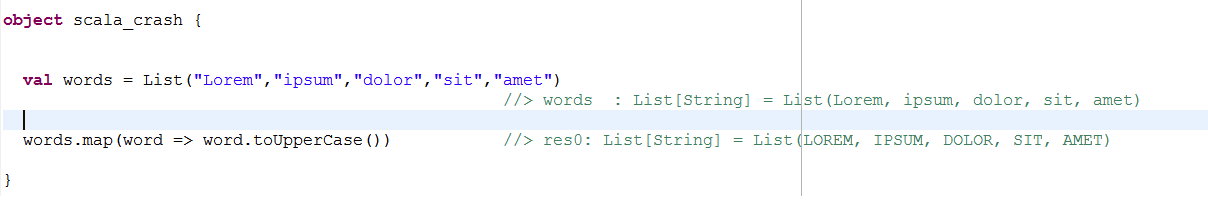 Scala Crash Course, Part 1 – Coding
